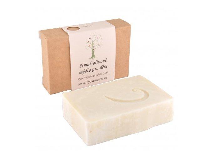 jemne olivove mydlo pro deti