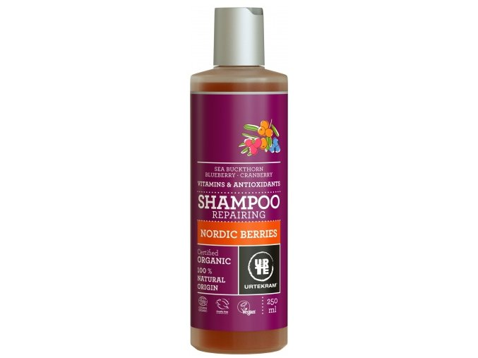 sampon nordic berries na poskozene vlasy 250ml bio