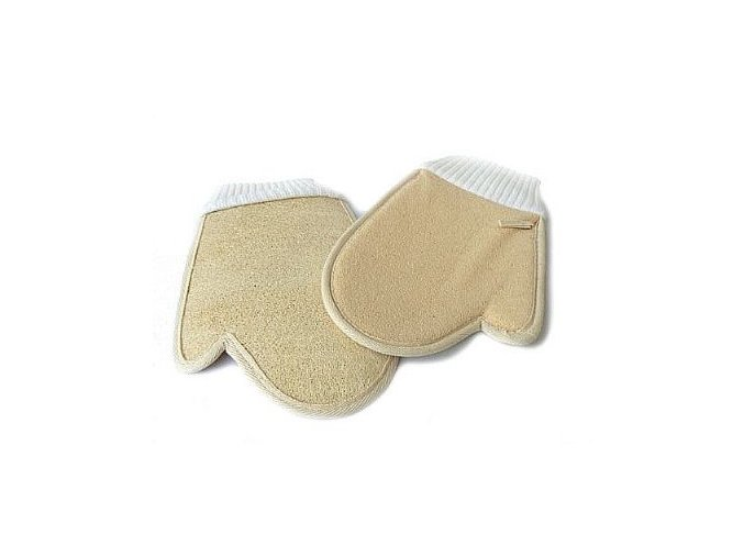 masazni rukavice z lufy