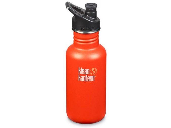 Nerezová lahev Klean Kanteen Classic Sport Cap - 532 ml