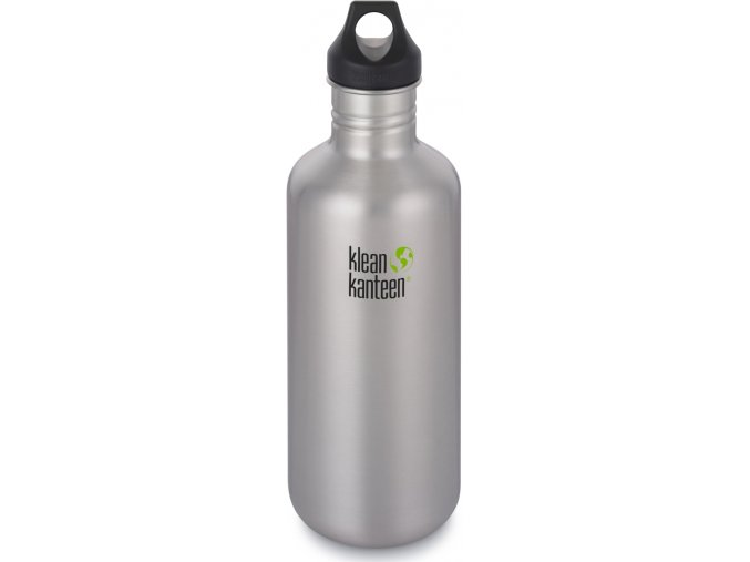 Nerezová lahev Klean Kanteen Classic Loop Cap - 1182 ml