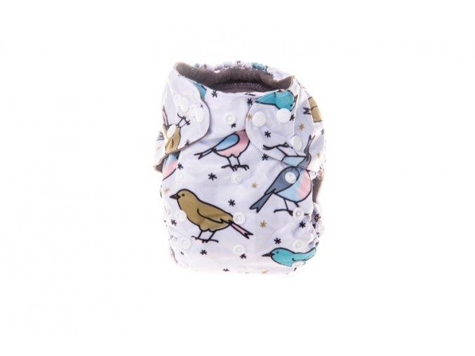 """Novorozenecká plena """"Ptáčci"""""""