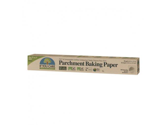IF YOU CARE Pergamenový nebělený pečící papír role 6,5 m (1 ks)