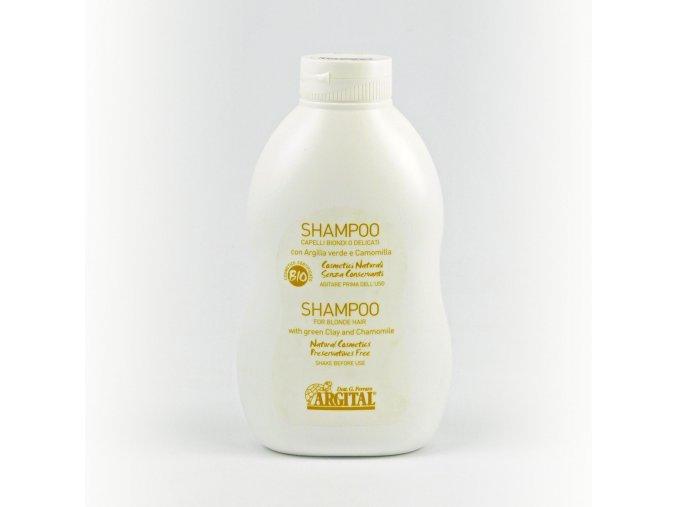 argital šampon rozjasňující na blond a jemné vlasy s heřmánkem 500ml