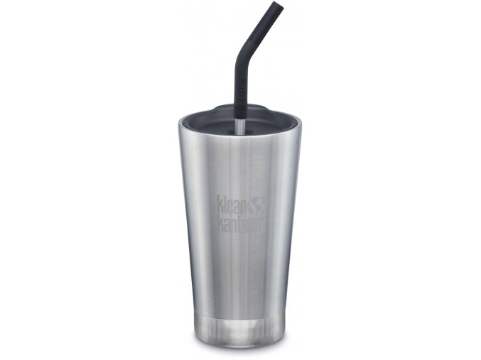Nerezový termohrnek Klean Kanteen Insulated Tumbler - brushed stainless 473 ml