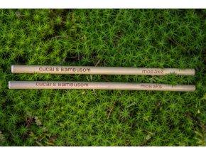 bambusová brčka