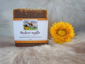 medové mýdlo s propolisem a pylem